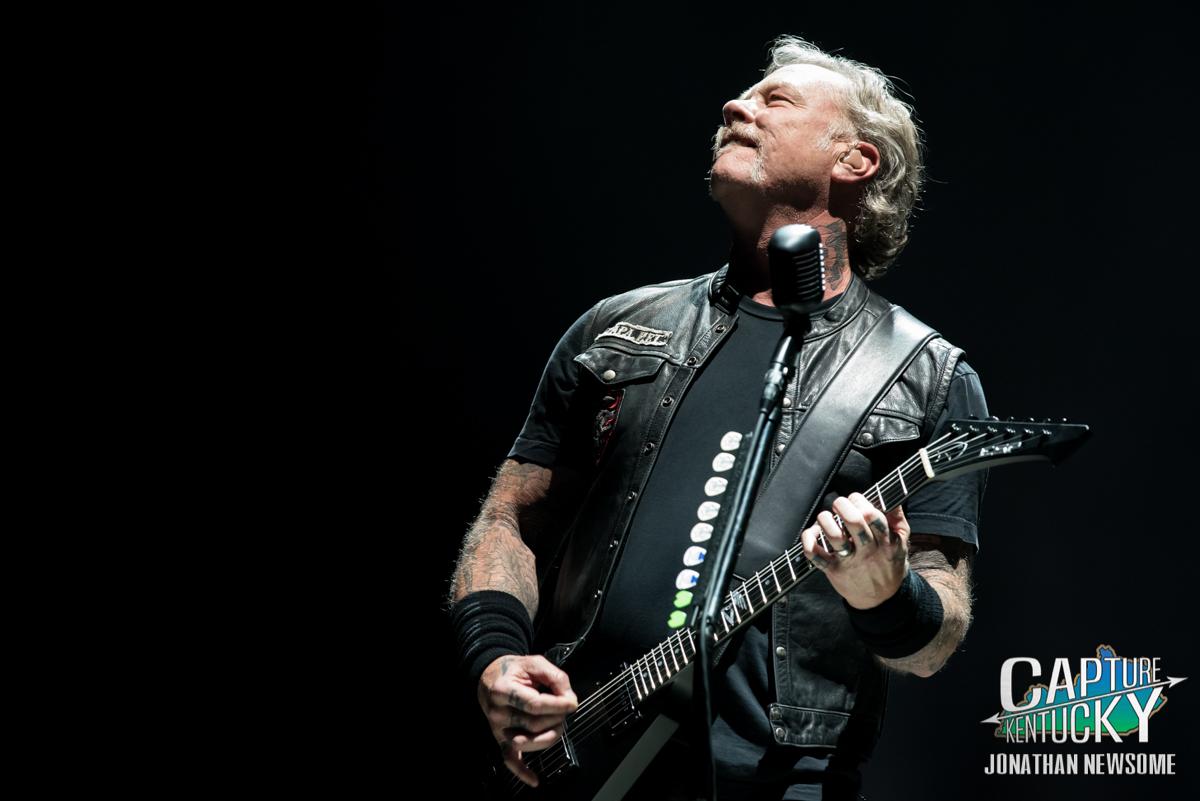Metal Legends Metallica Invade The KFC YUM Center For A Record